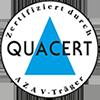 Zertifiziert nach AZAV